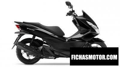 Ficha técnica Honda pcx 125 2016