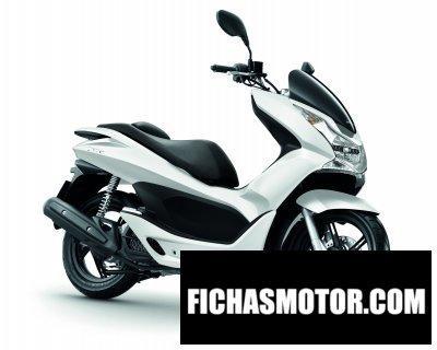 Ficha técnica Honda pcx 2010