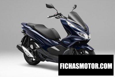 Ficha técnica Honda PCX Hybrid 2019