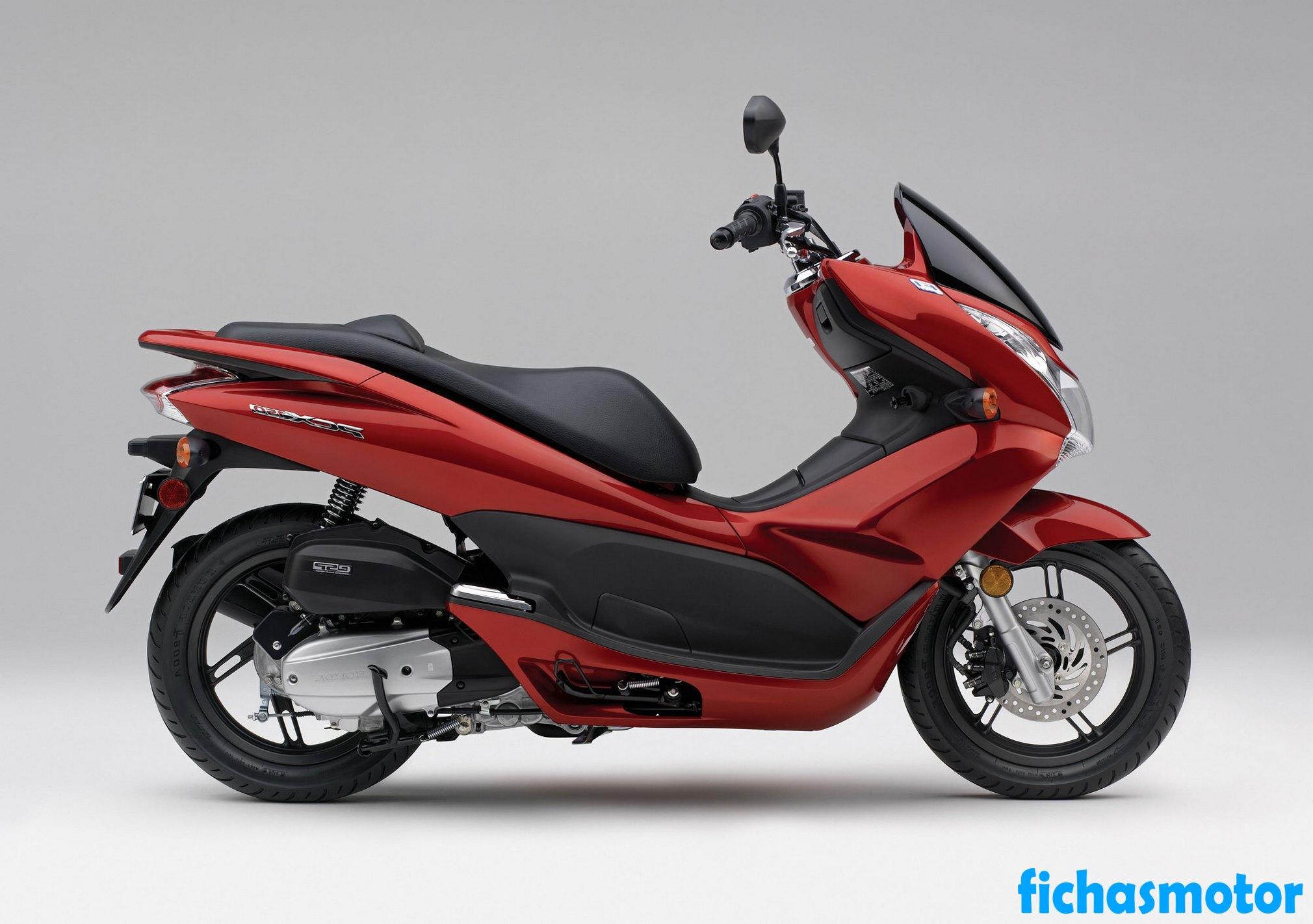 Ficha técnica Honda pcx150 2013