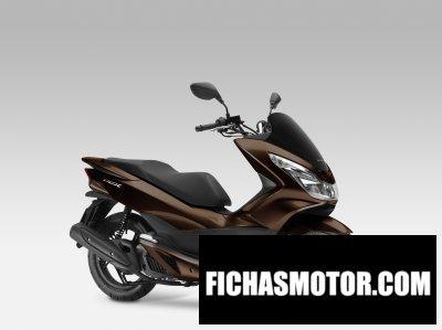 Ficha técnica Honda pcx150 2014