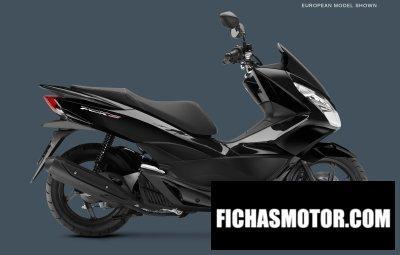 Ficha técnica Honda pcx150 2015