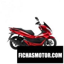 Imagen moto Honda pcx150 2017