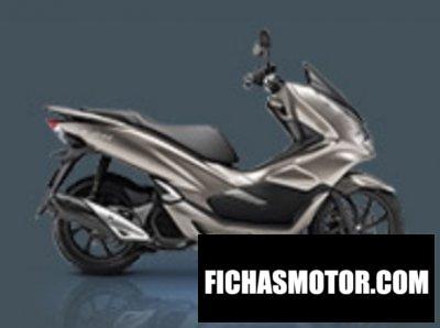 Ficha técnica Honda PCX150 2019