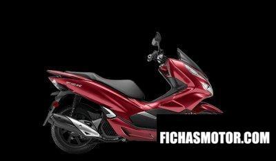 Ficha técnica Honda PCX150 2020