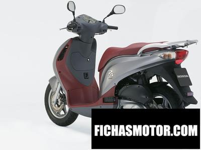 Ficha técnica Honda ps 150i 2006