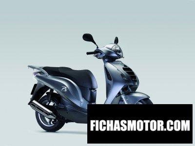 Ficha técnica Honda ps150i 2011