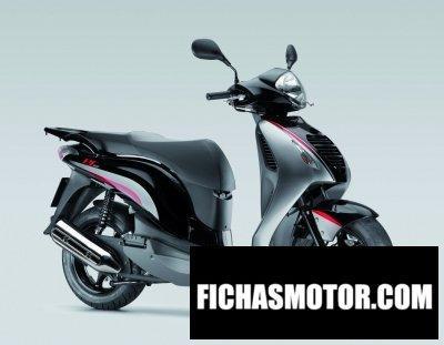 Ficha técnica Honda ps150i sporty 2011