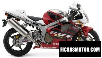 Ficha técnica Honda rc 51 - rtv 1000 r 2004