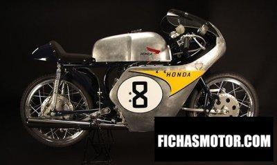 Ficha técnica Honda rc142 1959