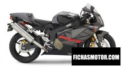 Ficha técnica Honda rc51 2006