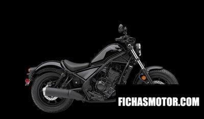 Ficha técnica Honda Rebel 300 2020