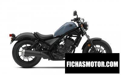 Ficha técnica Honda Rebel 300 ABS 2019
