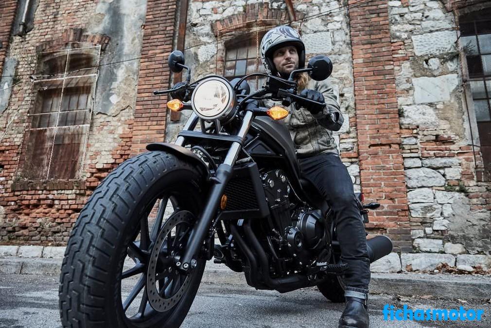 Ficha técnica Honda Rebel 500 2020