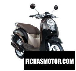 Imagen moto Honda scoopy 110 2015