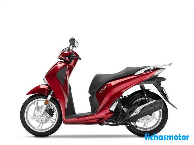 Ficha técnica Honda SH125i 2020