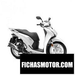 Imagen moto Honda sh150 2018
