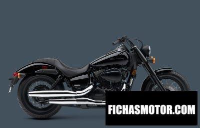 Ficha técnica Honda shadow phantom 2014
