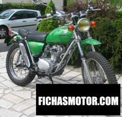 Imagen moto Honda sl 125 s 1975