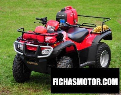 Imagen moto Honda trx500fe año 2011