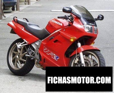 Ficha técnica Honda vfr 750 f 1991