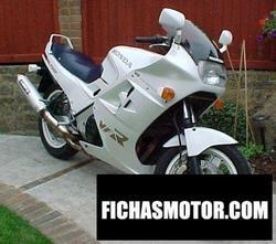 Imagen moto Honda vfr 750 f (reduced effect) 1987