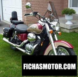 Imagen moto Honda vt 750 c2 shadow 2000