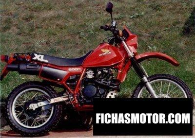 Ficha técnica Honda xl 600 r 1984