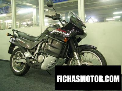 Ficha técnica Honda xl 600 v transalp 2000