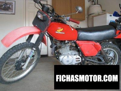 Imagen moto Honda xr 500 año 1980