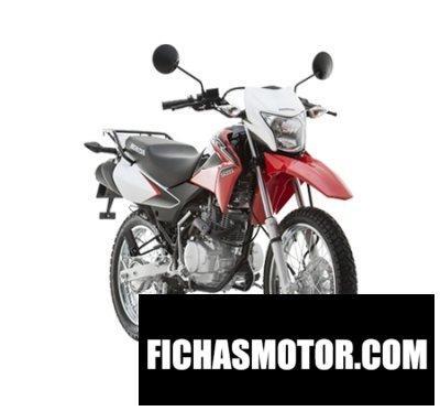 Ficha técnica Honda xr150l 2015