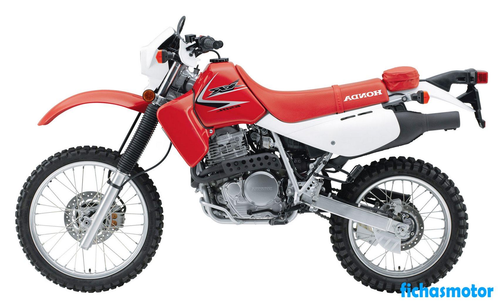 Ficha técnica Honda xr650l 2009