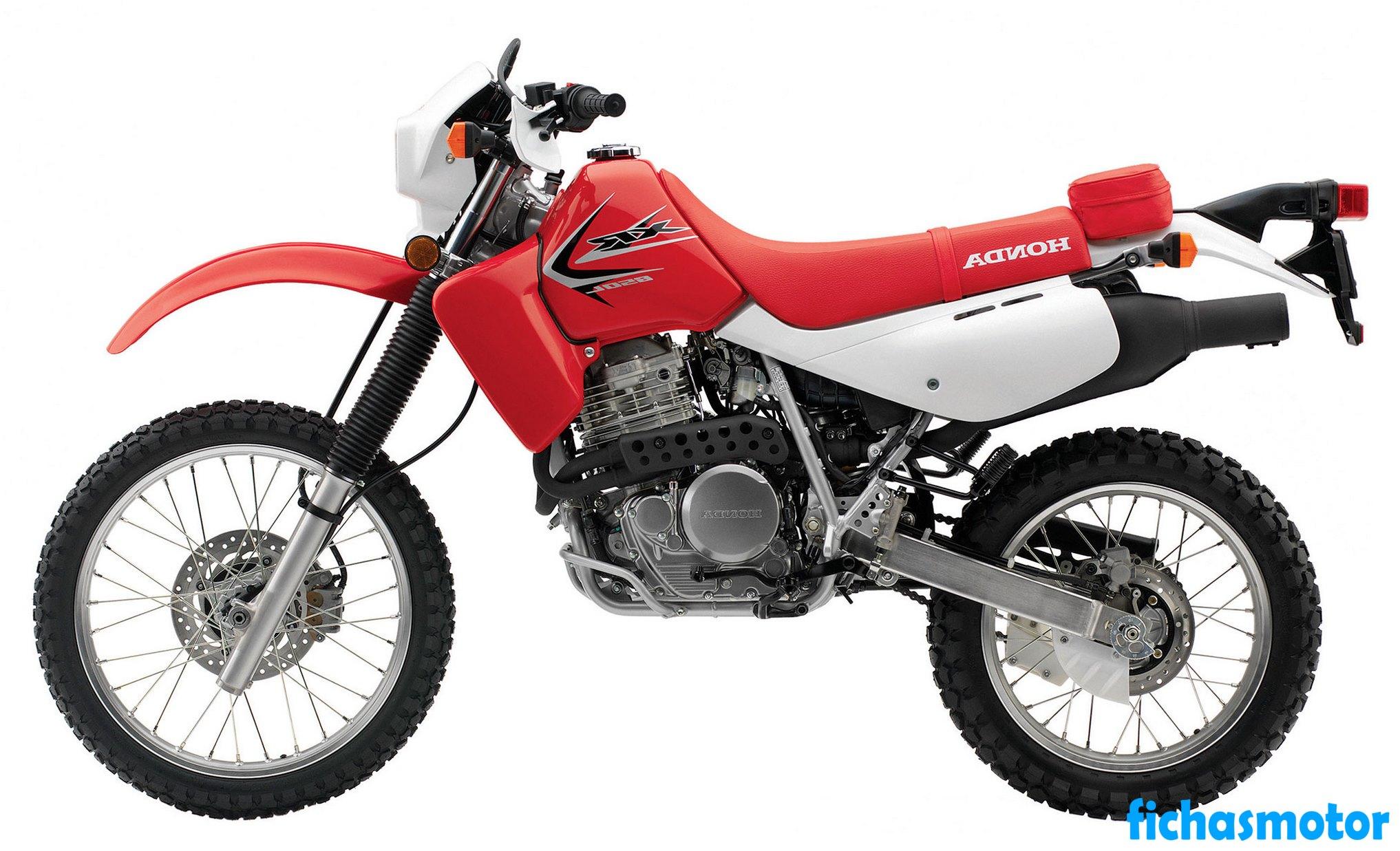 Ficha técnica Honda xr650l 2014