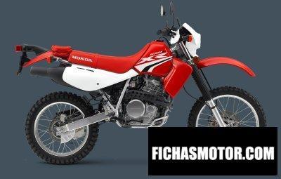 Ficha técnica Honda xr650l 2018