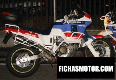 Imagen moto Honda xrv 650 africa Twin año 1988