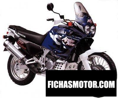 Imagen moto Honda xrv 750 africa Twin año 2003