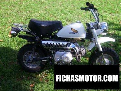 Ficha técnica Honda z50r 1985