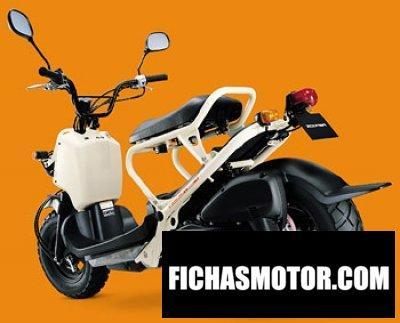 Imagen moto Honda zoomer año 2002