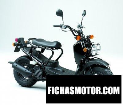 Ficha técnica Honda zoomer 2011