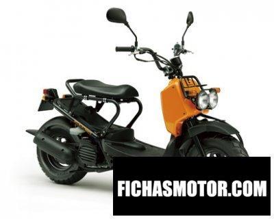 Ficha técnica Honda zoomer 2013