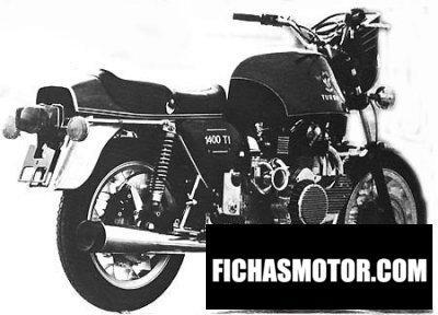 Ficha técnica Horex 1400 ti 1978