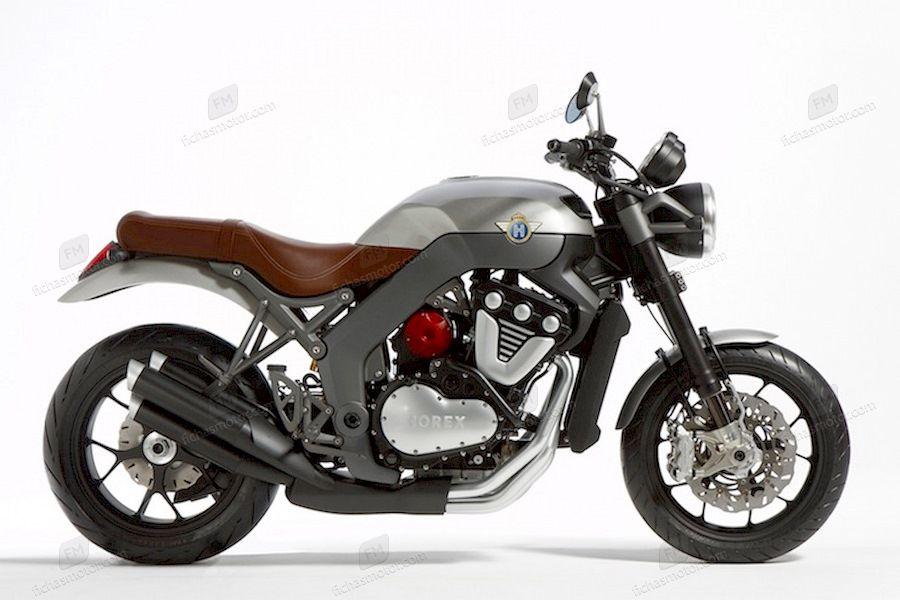 Imagen moto Horex 1400 ti año 1980