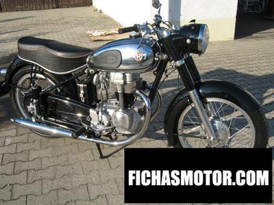 Imagen moto Horex columbus 600 año 1986