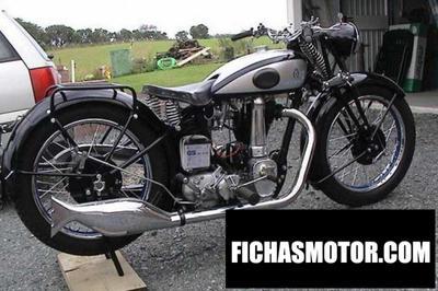 Imagen moto Horex columbus 600 año 1987