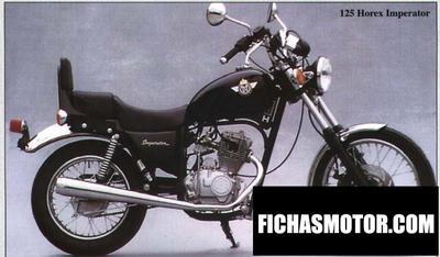Ficha técnica Horex imperator 125 1998