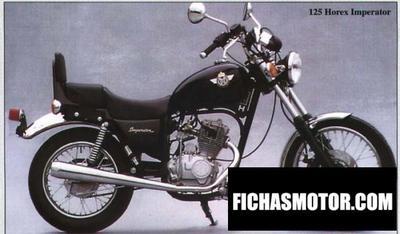 Ficha técnica Horex imperator 125 2001