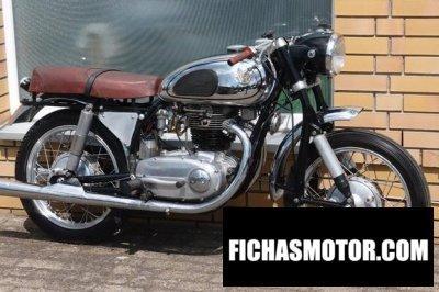 Imagen moto Horex imperator año 1957