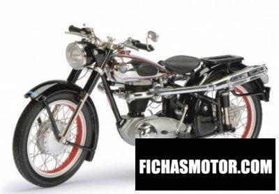 Ficha técnica Horex regina 1955