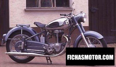 Imagen moto Horex regina año 1957