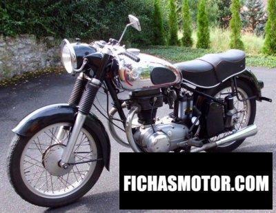 Ficha técnica Horex regina 400 1953